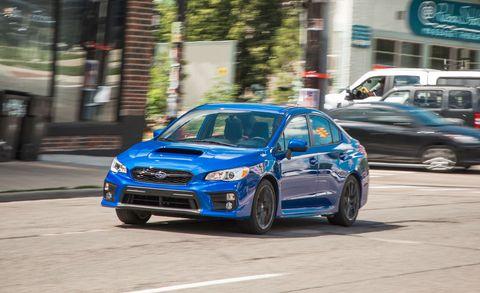 Land vehicle, Vehicle, Car, Full-size car, Automotive design, Subaru, Subaru, Sports car, Subaru impreza wrx sti, Mid-size car,