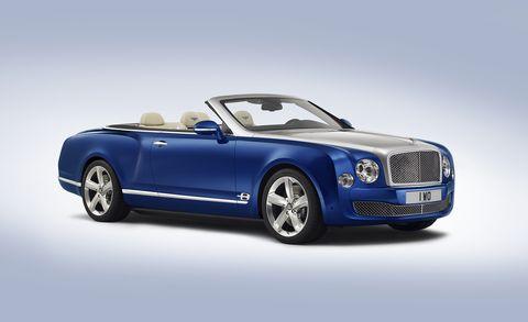 Land vehicle, Vehicle, Luxury vehicle, Car, Motor vehicle, Sedan, Automotive design, Bentley, Convertible, Bentley mulsanne,