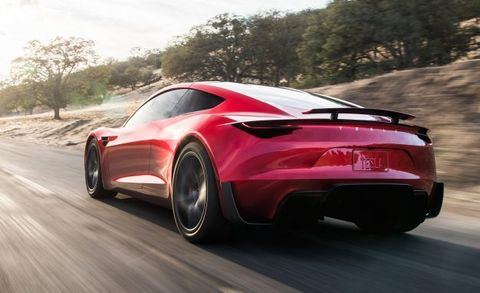 New Tesla Roadster: 0–60 in 1 9 Sec, 250-MPH Top Speed, 620