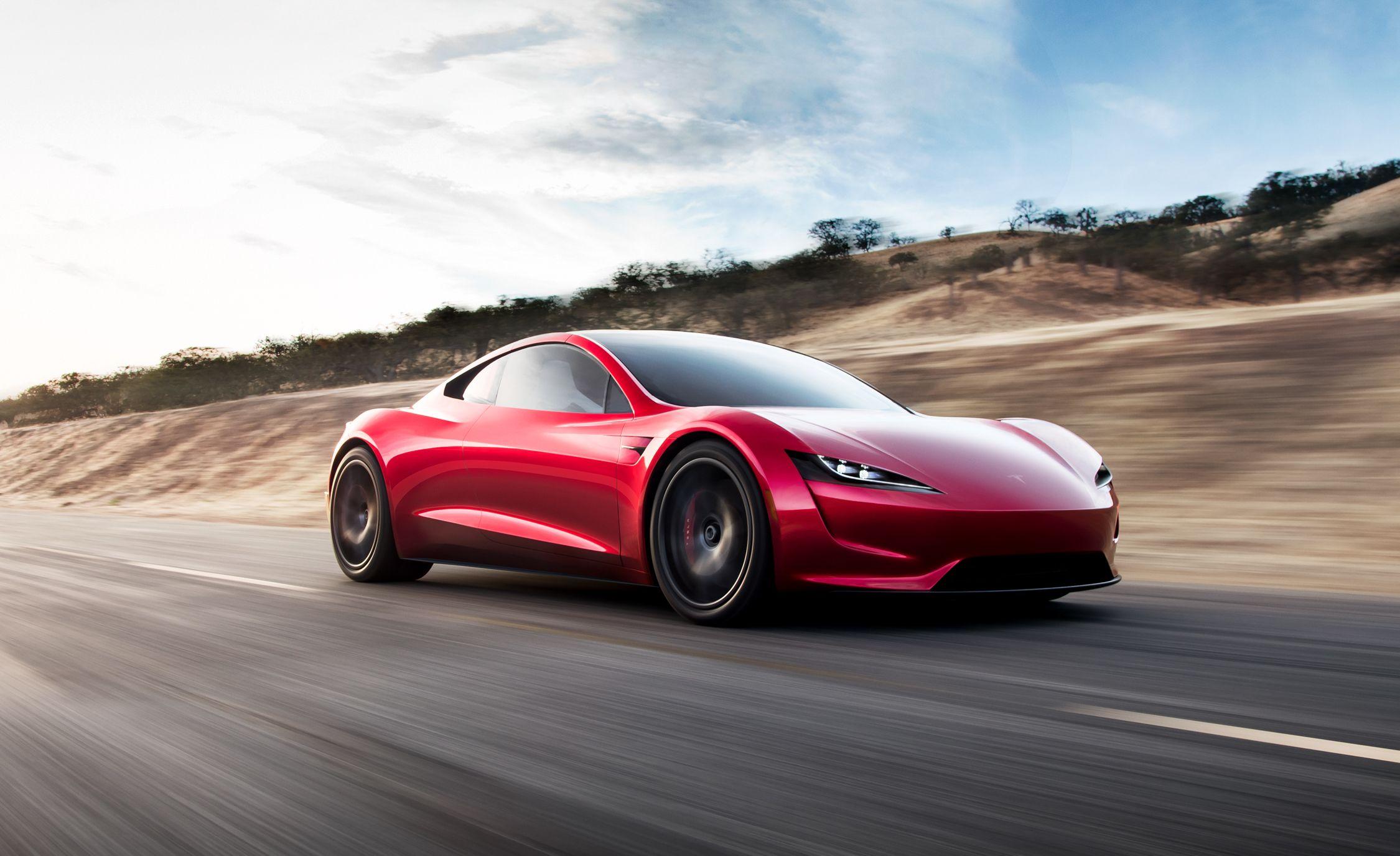 New Tesla Roadster: 0–60 in 1 9 Sec, 250-MPH Top Speed, 620-Mile