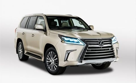 Lexus 3rd Row >> Lexus Will Offer An Lx570 With Two Rows Of Seats