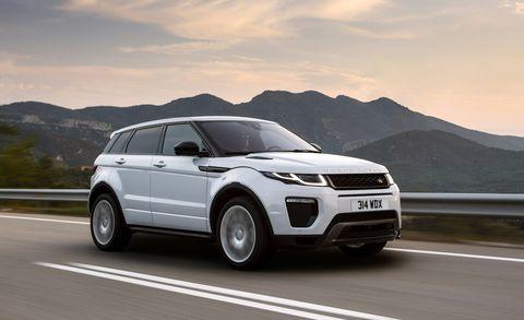 Land vehicle, Vehicle, Car, Range rover evoque, Sport utility vehicle, Range rover, Automotive design, Compact sport utility vehicle, Luxury vehicle, Performance car,