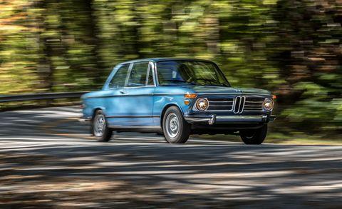 Land vehicle, Vehicle, Car, Regularity rally, Classic car, Bmw 2002tii, Coupé, Sedan, Automotive design, Bmw new class,