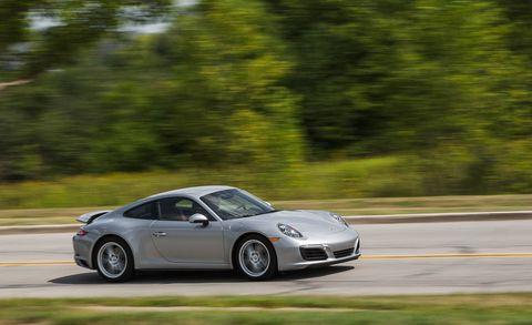Land vehicle, Vehicle, Car, Supercar, Sports car, Automotive design, Performance car, Porsche, Road, Porsche 911,