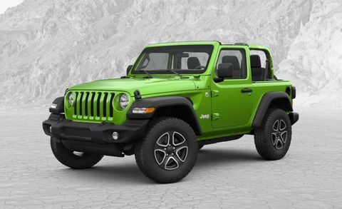 How We'd Spec It: The $37,000 Almost Base 2018 Jeep Wrangler