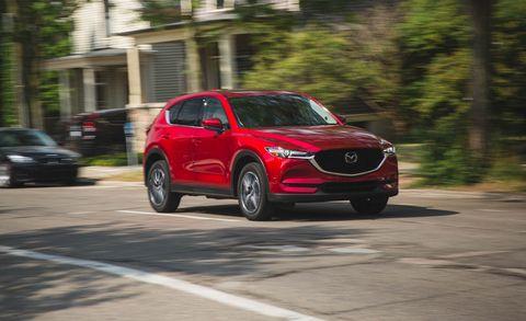2018 Mazda CX-5 driving
