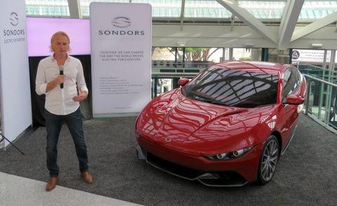 Stylish $10,000 Three-Wheeler Planned by Sondors, Maker of E