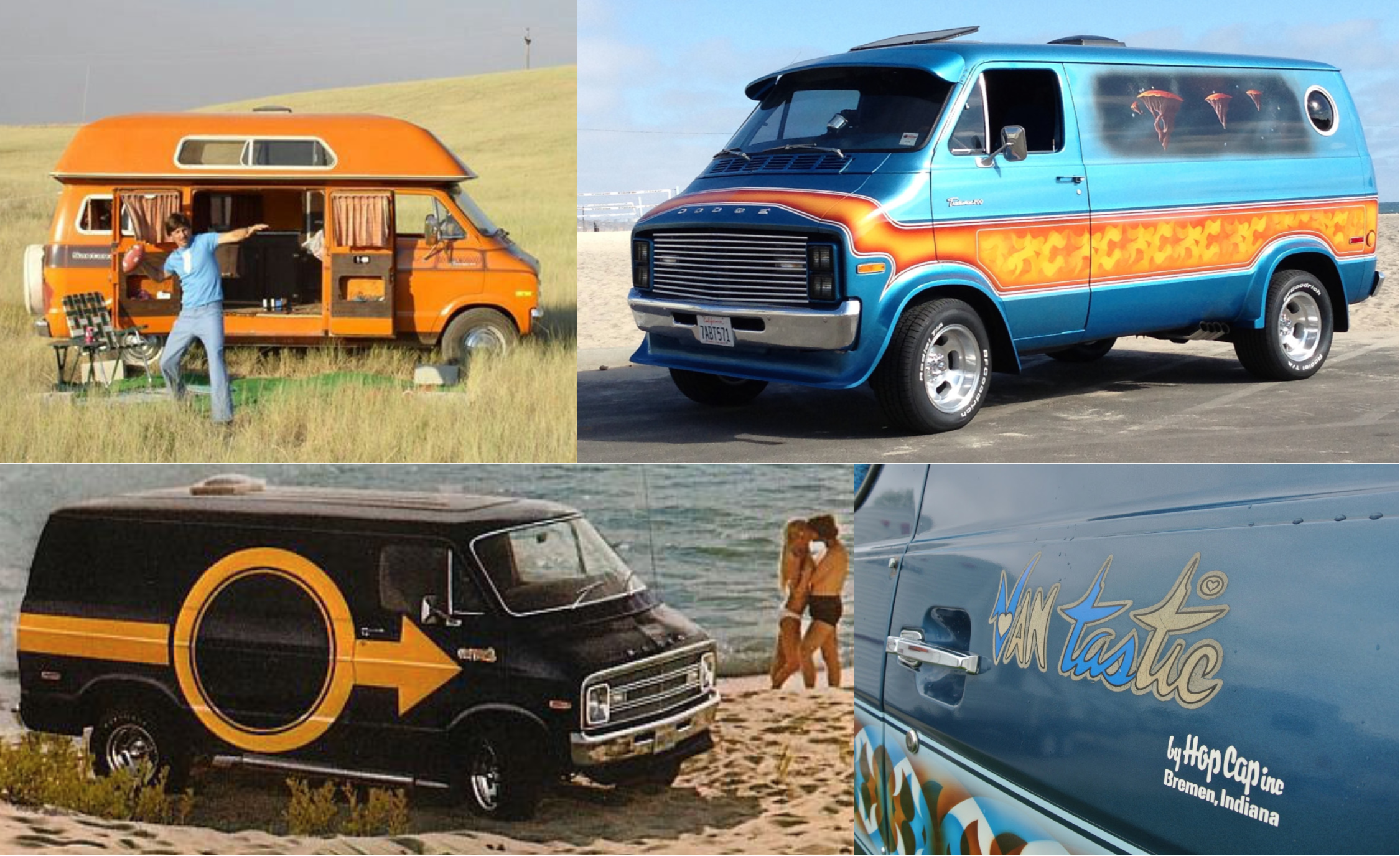 Raddest Factory Custom And Small Batch Production Vans Of The 1970s