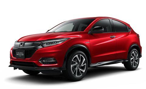 Land vehicle, Vehicle, Car, Motor vehicle, Honda, Automotive design, Sport utility vehicle, Mini SUV, Bumper, Compact sport utility vehicle,