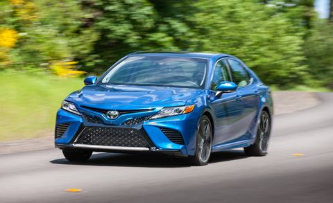 2018 Toyota Camry driving