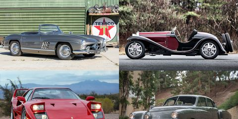 The 20 Most Expensive Cars From 2018 S Biggest Collector Car Auctions