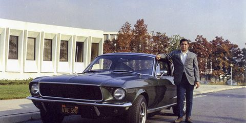 Land vehicle, Vehicle, Car, Sedan, Classic car, Muscle car, First generation ford mustang, Coupé, Ford mustang, Bristol 410,