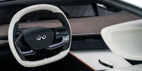 Land vehicle, Vehicle, Car, Steering part, Steering wheel, Automotive design, Concept car, Mid-size car, Hybrid vehicle,