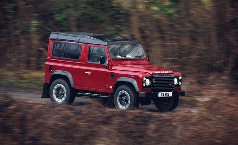 Land vehicle, Vehicle, Car, Off-road vehicle, Land rover defender, Off-roading, Sport utility vehicle, Hardtop, Mini SUV, Automotive tire,
