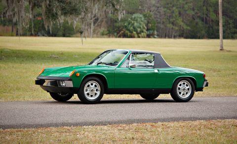 Land vehicle, Vehicle, Car, Regularity rally, Sports car, Classic car, Porsche 914, Race car, Coupé, Porsche 914-6 gt,