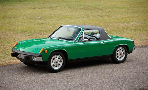Land vehicle, Vehicle, Car, Classic car, Regularity rally, Sports car, Porsche 914, Convertible, Race car, Coupé,