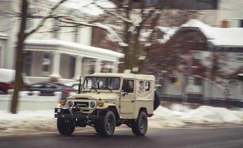 Land vehicle, Vehicle, Car, Motor vehicle, Mode of transport, Transport, Automotive exterior, Off-road vehicle, Hardtop, Snow,