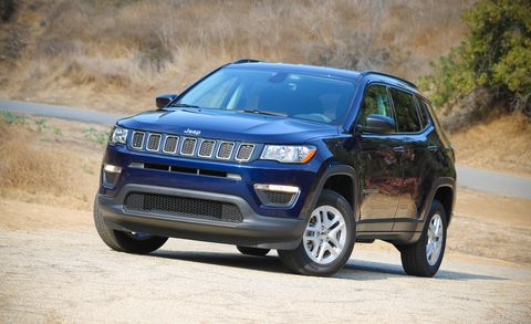 2017 Jeep Compass Sport manual