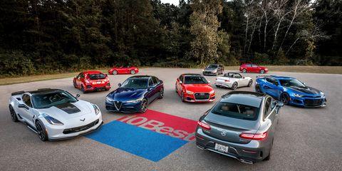 Land vehicle, Vehicle, Car, Luxury vehicle, Performance car, Mid-size car, Family car, Hot hatch, Parking lot, Parking,