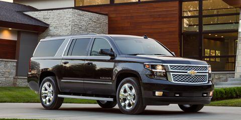 Land vehicle, Vehicle, Car, Chevrolet, Motor vehicle, Chevrolet suburban, Sport utility vehicle, Automotive tire, Full-size car, Tire,