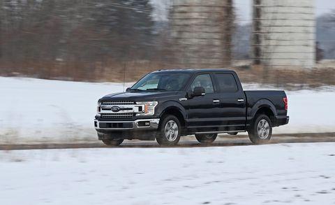 Land vehicle, Vehicle, Car, Pickup truck, Automotive tire, Tire, Truck, Snow, Ford motor company, Automotive design,