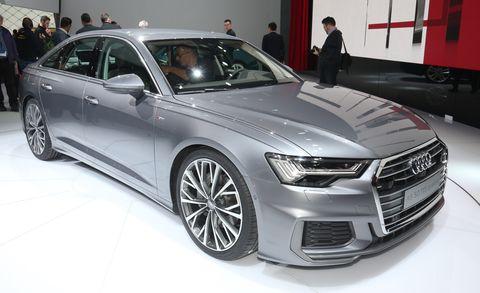 Land vehicle, Vehicle, Car, Audi, Executive car, Auto show, Automotive design, Audi a6, Motor vehicle, Luxury vehicle,