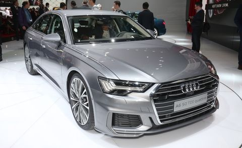 Land vehicle, Vehicle, Car, Audi, Executive car, Auto show, Automotive design, Audi a6, Motor vehicle, Mid-size car,