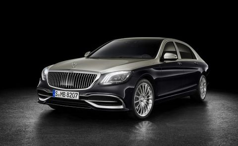 The Mercedes-Maybach S-class Gets a Distinct Grille for 2019