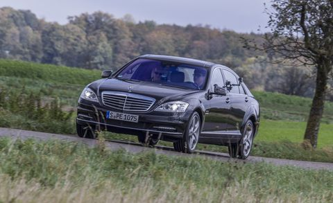We Drive Every Generation of the Mercedes-Benz S-class