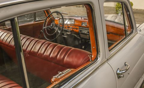 Motor vehicle, Vehicle, Steering part, Classic car, Vehicle door, Steering wheel, Classic, Car, Antique car, Car seat,