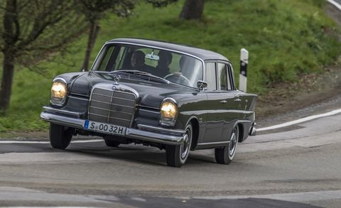 We Drive Every Generation Of The Mercedes Benz S Class