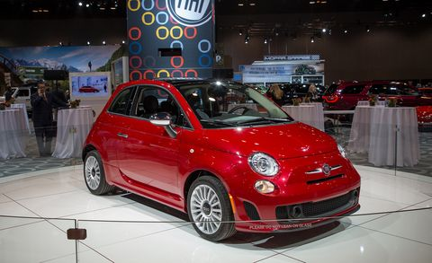 Land vehicle, Vehicle, City car, Car, Motor vehicle, Auto show, Fiat 500, Fiat, Fiat 500, Automotive design,