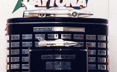 How Gm S Xp 21 Firebird I Arrived Atop A Trophy For The Daytona 500 Feature Car And Driver