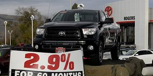 Toyota car dealer sells used and new vehicles