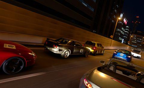 Land vehicle, Vehicle, Car, Automotive design, Performance car, Sports car, Supercar, Bugatti veyron, Night, Coupé,