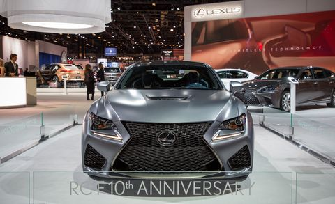Land vehicle, Vehicle, Car, Auto show, Automotive design, Lexus, Motor vehicle, Mid-size car, Supercar, Sports sedan,