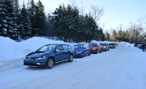 Land vehicle, Vehicle, Car, Snow, Mid-size car, Family car, Crossover suv, Winter, City car, Full-size car,