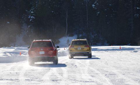 Snow, Winter, Vehicle, Car, Freezing, Mode of transport, Winter storm, Automotive exterior, Ice racing, City car,