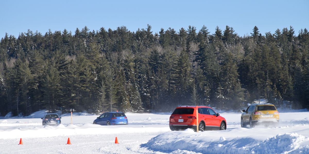 What We Learned about VW's 4Motion While Blasting around a Frozen Canadian Lake