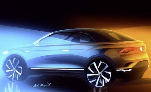 Erstes Suv Cabriolet Der Marke Volkswagen Aufsichtsrat Best Tigt Des T