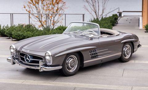Land vehicle, Vehicle, Car, Mercedes-benz 300sl, Mercedes-benz, Automotive design, Classic car, Sports car, Mercedes-benz 190sl, Coupé,