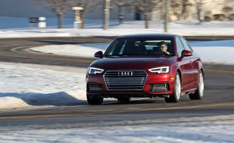 Land vehicle, Vehicle, Car, Audi, Automotive design, Executive car, Luxury vehicle, Mid-size car, Automotive tire, Family car,