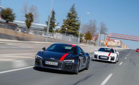 Land vehicle, Vehicle, Car, Automotive design, Audi, Sports car, Audi r8, Performance car, Coupé, Mode of transport,