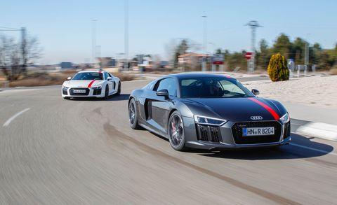 Land vehicle, Vehicle, Car, Automotive design, Audi, Sports car, Performance car, Audi r8, Supercar, Luxury vehicle,