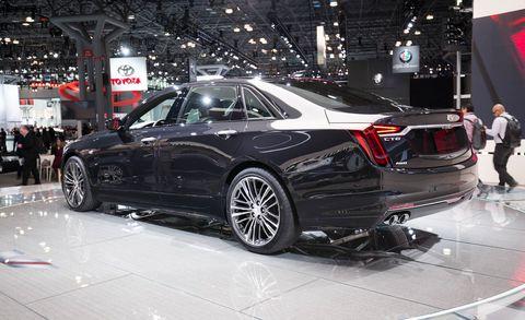 2019 Cadillac CT6-V Price Announced – New V-8 Luxury Sedan