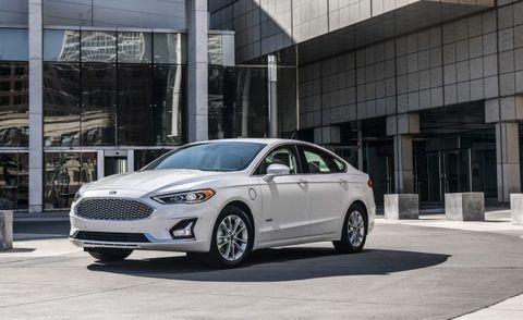 2019 Ford Fusion Energi Anium