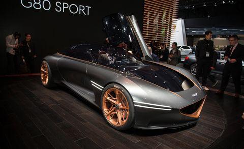 Land vehicle, Vehicle, Car, Auto show, Automotive design, Concept car, Supercar, Sports car, Performance car, Personal luxury car,