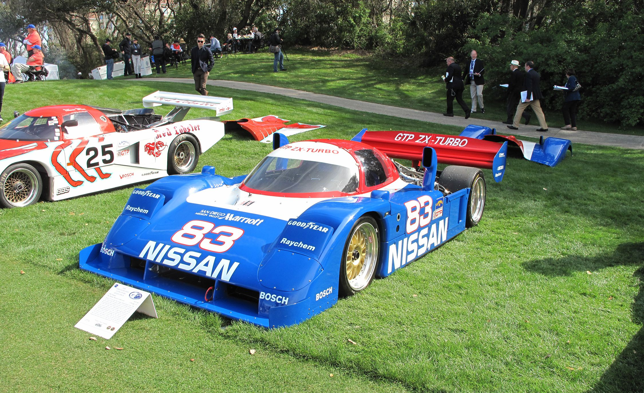 12 Of Imsa S Legendary Gtp Race Cars Gather At The 2018 Amelia Island Concours