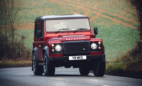 Land vehicle, Vehicle, Car, Land rover defender, Off-road vehicle, Automotive design, Hardtop, Sport utility vehicle, Off-roading,
