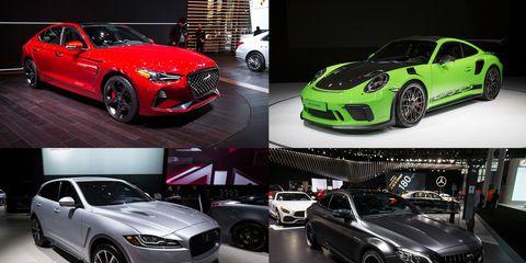 Land vehicle, Vehicle, Car, Motor vehicle, Automotive design, Auto show, Sports car, Performance car, Rim, Wheel,